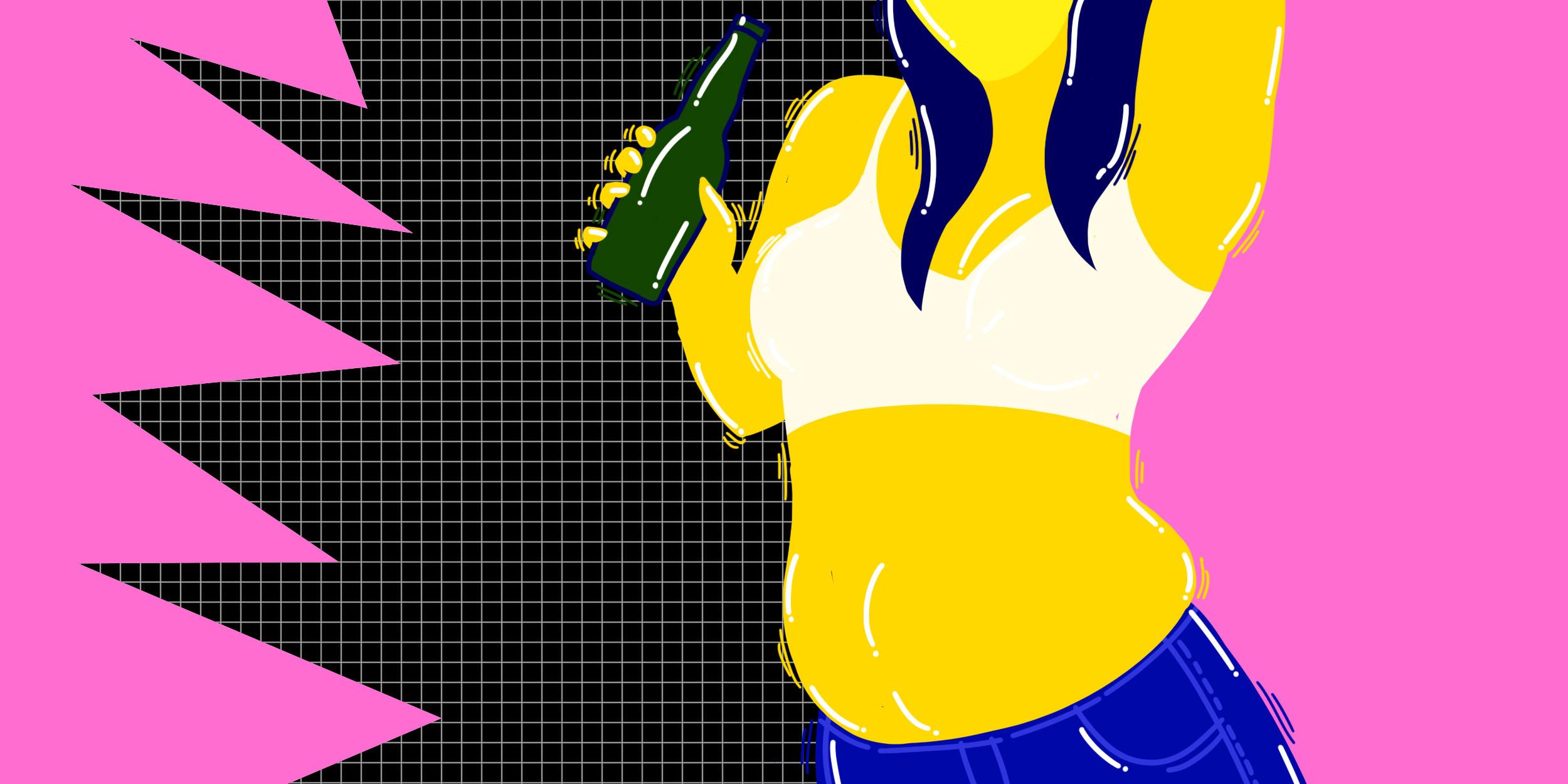 23071 Правда ли, что от алкоголя толстеют